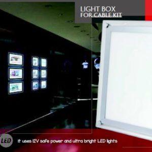 LIGHT BOX - CABLE KIT - Masa Display