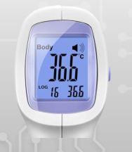 termómetro clínico infrarrojos - Masa Display