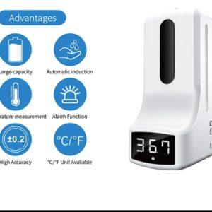 Dispensador con control de temperatura