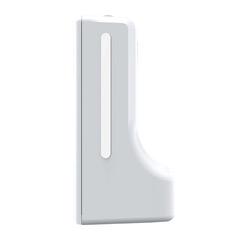Lateral - Dispensador automático con termómetro